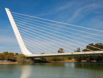 alamillo γέφυρα Στοκ φωτογραφίες με δικαίωμα ελεύθερης χρήσης