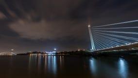 Alamillo bridge over Guadalquivir river in Seville. From Santiago Calatrava Architect stock images