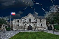 Alamo в Сан Антонио, Техасе Стоковые Фотографии RF