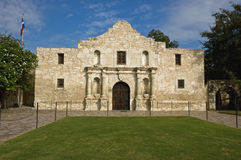 The Alamo. The historic Alamo mission in San Antonio, Texas, site of the 1836 battle for Texas independence against Santa Anna and his Mexican army royalty free stock photos