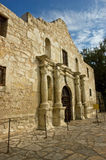 The Alamo. The historic Alamo mission in San Antonio, Texas, site of the 1836 battle for Texas independence against Santa Anna and his Mexican army royalty free stock photo