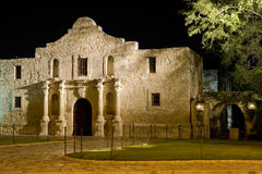 The Alamo. Famous american landmark - Alamo mission in San Antonio, Texas stock photo