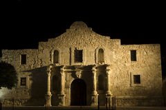 The Alamo. Mission in San Antonio Missions National park - famous landmark in Texas royalty free stock photography