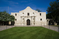 Alamo. Historic Alamo in San Antonio, Texas royalty free stock photography