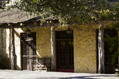 The Alamo. Mission in San Antonio Missions National park , Texas stock photo