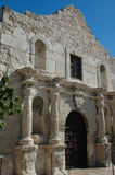 The Alamo. The front facade of the historic Alamo in San Antonio Texas. Remember the Alamo stock images