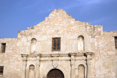 The Alamo. Located in San Antonio, Texas was the location of the great last stand by some of the biggest Texas Heroes Stock Images