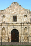 Alamo. Entrance to the Alamo in San Antonio, Texas, famous for the fight in the Texas Revolution stock photography