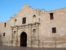 The Alamo. Remember the Alamo. The historic mission in San Antonio, Texas stock photo
