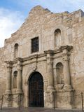 The Alamo. The historic Alamo mission in San Antonio, Texas, famous battleground of the Texas Revolutionary War stock photos