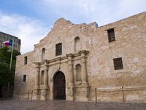 The Alamo. The historic Alamo mission in San Antonio, Texas, famous battleground of the Texas Revolutionary War royalty free stock image