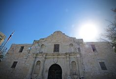 Alamo Στοκ φωτογραφία με δικαίωμα ελεύθερης χρήσης