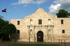 The Alamo. In San Antonio, Texas stock photography