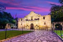 Alamo all'alba Immagine Stock Libera da Diritti