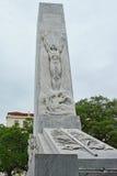 Alamo Cenotaph. The Spirit of Sacrifice monument in San Antonio Texas Stock Photo