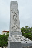 Alamo Cenotaph Stock Photo