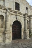 Alamo Chapel Entrance. The entrance to the Alamo Chapel entrance royalty free stock image