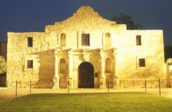The Alamo Historic Mission Stock Photo