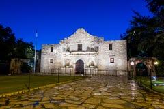 Alamo historique, San Antonio, le Texas images stock