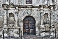 Alamo i San Antonio, Texas arkivfoto