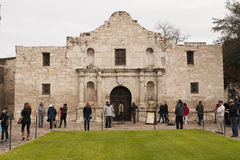 The Alamo. An image of the Alamo stock images