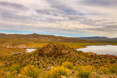 Alamo Lake State Park in Arizona Stock Photo