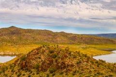 Alamo Lake State Park in Arizona Stock Images