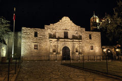 Alamo mission in San Antonio. American landmark - Alamo mission in San Antonio, Texas royalty free stock photo
