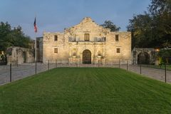 The legendary Alamo Mission fort and museum in San Antonio Royalty Free Stock Image