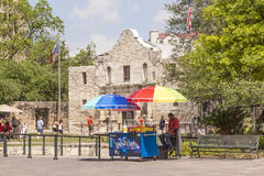 The Alamo Mission in San Antonio, Texas Stock Photography