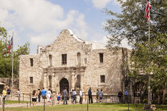 The Alamo Mission in San Antonio, Texas Royalty Free Stock Images