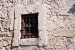 alamo okno Obrazy Stock