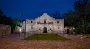 The Alamo. Originally known as Mission San Antonio de Valero, in San Antonio, Texas royalty free stock photography