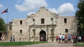 Alamo San Antonio Τέξας απόθεμα βίντεο