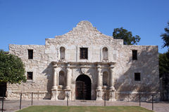 Alamo in San Antonio Stockbilder