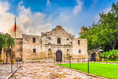 Alamo in San Antonio Stock Afbeelding