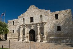 Alamo San Antonio il Texas Fotografia Stock