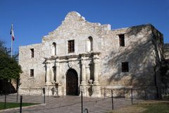 Alamo in San Antonio, Texas Royalty-vrije Stock Fotografie