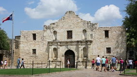 Alamo San Antonio Texas stock video