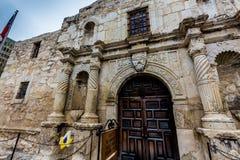 The Alamo in San Antonio, Texas. The Historic Spanish Mission and Texas Fort, The Alamo, in San Antonio, Texas Royalty Free Stock Images