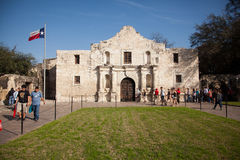 The Alamo in San Antonio, Texas. Royalty Free Stock Images