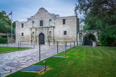 The Alamo Side. Side view of The Alamo stock photo