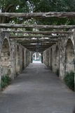 Alamo Side Walkway Royalty Free Stock Photography
