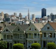 Alamo square Stock Photography
