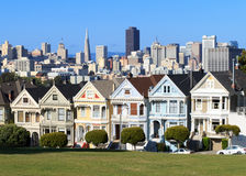 Alamo Square Stock Image
