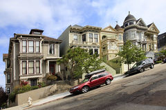 Alamo Square Royalty Free Stock Images