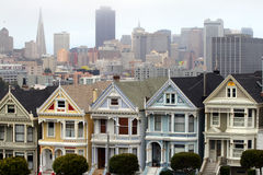 Alamo Square, San Francisco Stock Photography