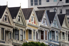 Alamo Square, San Francisco Stock Photos