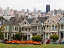 Alamo Square in San Francisco Stock Photo