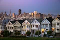 Alamo Square, San Francisco Royalty Free Stock Photos